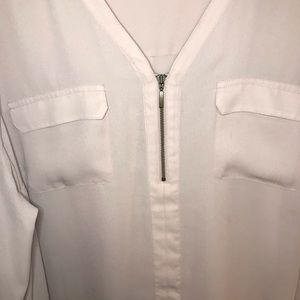 Maurices Tops - Maurices V-neck Zip Blouse